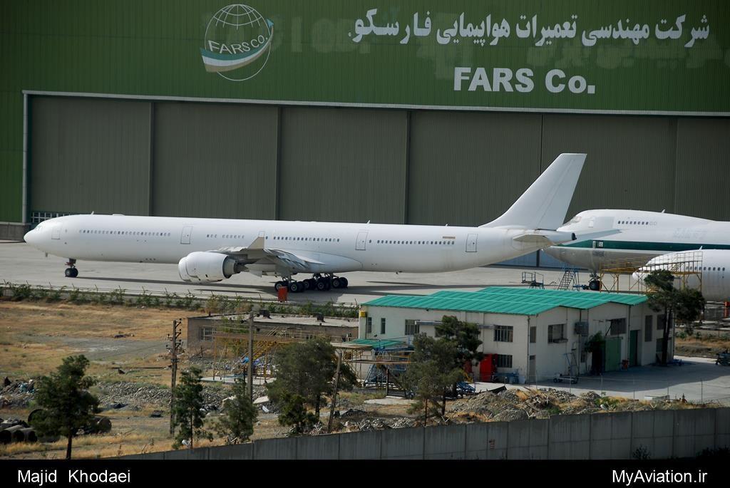 Mahan Air - Airbus A340-642
